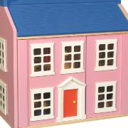 Puppenhäuser und Schauspielzeuge