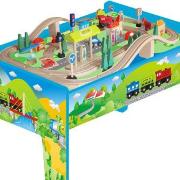 Holz Auto und Eisenbahn Spielzeuge