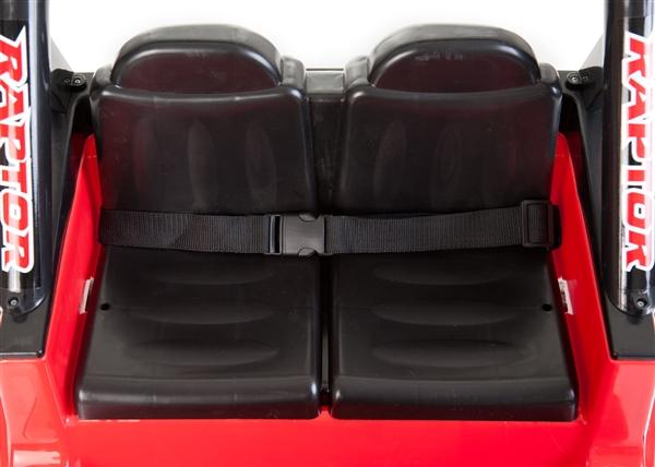 12v 2 sitzer 4x4 lkw rot elektroauto f r kinder elektro. Black Bedroom Furniture Sets. Home Design Ideas
