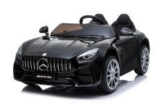 12V Lizenziertes Mercedes AMG GT Zweisitzer Elektrofahrzeug Schwarz