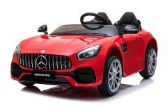 12V Lizenziertes Mercedes AMG GT Zweisitzer Elektrofahrzeug Rot