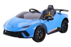 12V Lizenziertes Lamborghini Huracan Elektrofahrzeug Blau