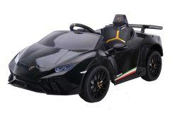 12V Lizenziertes Lamborghini Huracan Elektrofahrzeug Schwarz