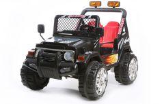 Schwarzes 2 Sitzer 4x4 Lastwagen – 12V Kinder Elektrofahrzeug