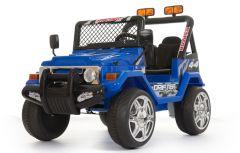 4x4 Blau - 12V Zweisitzer Kinder Elektrofahrzeug