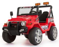 4x4 Rot - 12V Zweisitzer Kinder Elektrofahrzeug