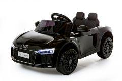 12V Lizenziertes Audi R8 Spyder Batteriebetriebenes Auto, Schwarz