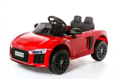 12V Lizenziertes Audi R8 Spyder Batteriebetriebenes Auto, Rot