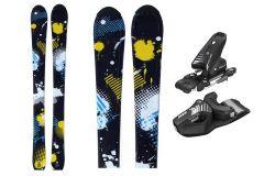 Tigris Jugend Jungen 100cm Skis und Tyrolia Bindungen