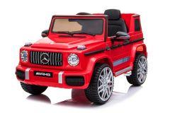12V Lizenziertes Mercedes G63 Elektrofahrzeug Rot