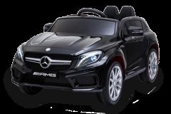 12V Lizenziertes Mercedes GLA Elektrofahrzeug Schwarz