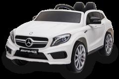 12V Lizenziertes Mercedes GLA Elektrofahrzeug Weiß