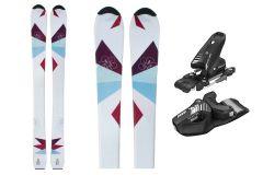 Tigris Jugend Mädchen Skis und Tyrolia Bindungen 120cm