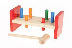 Kinder Spielzeug aus Holz DIY Hammer