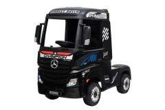 12V Lizenziertes Mercedes Artic Lastwagen Schwarz