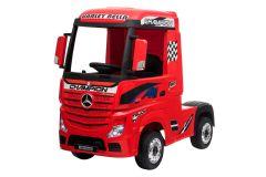 12V Lizenziertes Mercedes Artic Lastwagen Rot