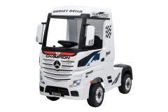 12V Lizenziertes Mercedes Artic Lastwagen Weiß
