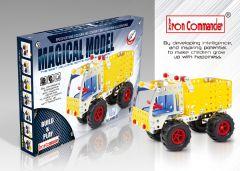 Kleinen Konstruktionsspielzeug für Kinder - Modellkipper aus Metall 179 Stück