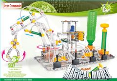 Kleinen Konstruktionsspielzeug für Kinder – pneumatische Greifer Plattform aus Metall 907 Stück