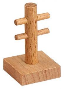 3 Stück Telegrafenmast Accessoire/Teil, Holz