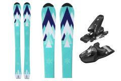 Tigris Jugend Unisex 120cm Skis und Tyrolia Bindungen