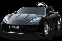 24V Zweisitzer Supercar Elektrofahrzeug Schwarz