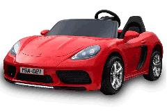 24V Zweisitzer Supercar Elektrofahrzeug Rot