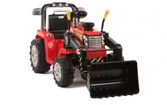 NICHT NAGELNEU - Traktor mit Fernbedienung und Doppelmotoren - Rot - 12V