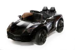12V Roadster Batteriebetriebene Elektroauto, Schwartz
