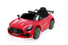 12V Lizenziertes Mercedes GTR Kinder Elektrofahrzeug Rot