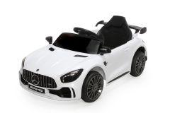 12V Lizenziertes Mercedes GTR Kinder Elektrofahrzeug Weiß