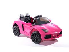 12V Roadster Batteriebetriebene Elektroauto, Rosa