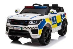 Batteriebetriebene 12V Polizeiwagen Weiß Elektrofahrzeug