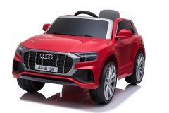 12V Lizenziertes Audi Q8 Rot Batteriebetriebenes Auto