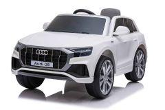12V Lizenziertes Audi Q8 Weiß Batteriebetriebenes Auto