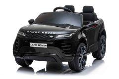 12V Lizenziertes Range Rover Evoque Schwarz 2 Sitzer Elektrofahrzeug