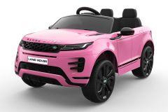 12V Lizenziertes Range Rover Evoque Rosa 2 Sitzer Elektrofahrzeug