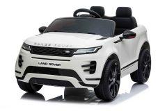 12V Lizenziertes Range Rover Evoque Weiß 2 Sitzer Elektrofahrzeug
