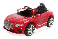 12V Lizenziertes Bentley Continental GT Kinder Elektrofahrzeug Rot