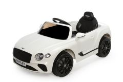 12V Lizenziertes Bentley Continental GT Kinder Elektrofahrzeug Weiß